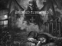 Fonds d'�cran Musique Avenged Sevenfold nightmare 2010