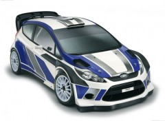 Fonds d'�cran Voitures Ford Fiesta RS WRC