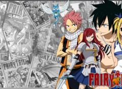 Fonds d'�cran Manga Fairy tail