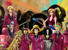 Fonds d'�cran Manga one piece musical