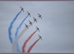 Fonds d'�cran Avions La Patrouille de France