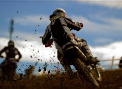 Fonds d'�cran Motos Motocross
