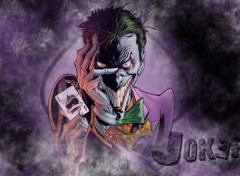 Fonds d'�cran Comics et BDs Joker
