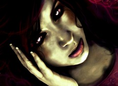Fonds d'�cran Art - Num�rique Zombie Girl