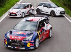 Fonds d'�cran Voitures Citroen DS3 WRC