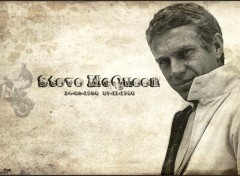 Fonds d'�cran C�l�brit�s Homme Steve McQueen Version2