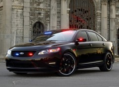 Fonds d'�cran Voitures Ford Stealth Police Interceptor Concept