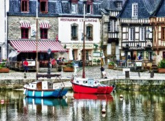 Fonds d'�cran Voyages : Europe Porto di Auray in HDR