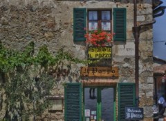 Fonds d'�cran Voyages : Europe Ristorante a Siena in HDR