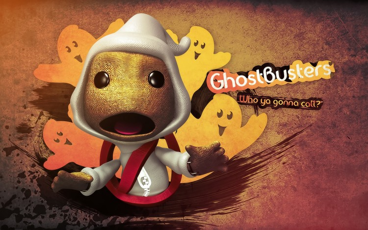 Fonds d'�cran Jeux Vid�o LittleBigPlanet Who ya gonna call ?!