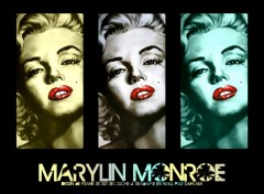 Fonds d'�cran C�l�brit�s Femme Drawing of Marylin