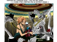 Fonds d'�cran Art - Num�rique one piece - Nami in Casino