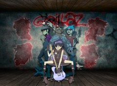 Wallpapers Music Gorillaz