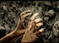 Fonds d'�cran Hommes - Ev�nements Hand Abstrakt