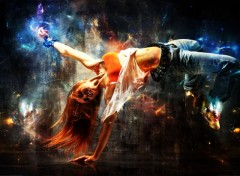Wallpapers Digital Art break dance