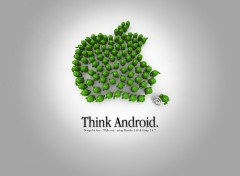 Fonds d'�cran Informatique Think Android !
