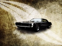 Wallpapers Cars Chevrolet Camaro SS 1967 Retro
