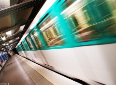 Fonds d'�cran Transports divers metro Paris