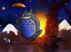 Wallpapers Cartoons Tonari no Totoro