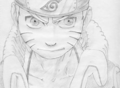 Fonds d'cran Art - Crayon Naruto