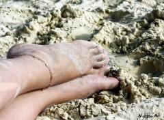 Fonds d'�cran Hommes - Ev�nements Pieds dans le sable