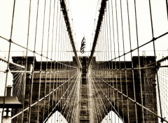 Fonds d'�cran Voyages : Am�rique du nord Brooklyn Bridge