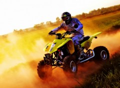 Fonds d'�cran Motos quad