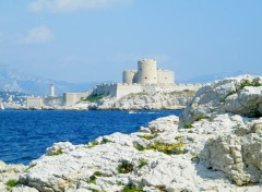 Fonds d'�cran Voyages : Europe chateau d if marseille