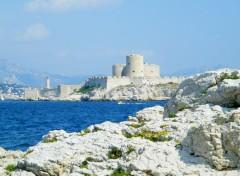 Fonds d'�cran Voyages : Europe chateau d if marseille