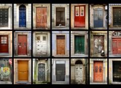 Wallpapers Constructions and architecture Portes � porte � Porto 1