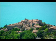 Fonds d'�cran Voyages : Europe Village de Sainte Croix de Verdon