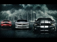 Wallpapers Cars muscle cars