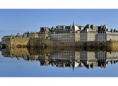 Fonds d'cran Voyages : Europe Saint Malo .2 (reflet rajout)