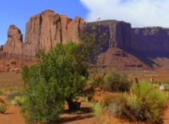 Fonds d'�cran Voyages : Am�rique du nord monument valley
