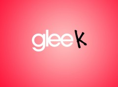Fonds d'�cran S�ries TV gleek rouge