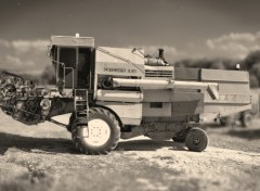 Fonds d'�cran Transports divers Harvester ancienne