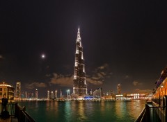 Fonds d'cran Voyages : Asie Dubai by night