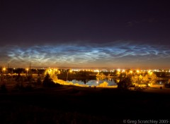 Fonds d'cran Nature Noctulicent Clouds