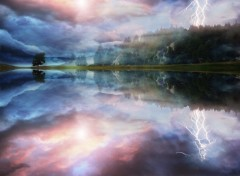 Fonds d'�cran Nature Apocalypse lake
