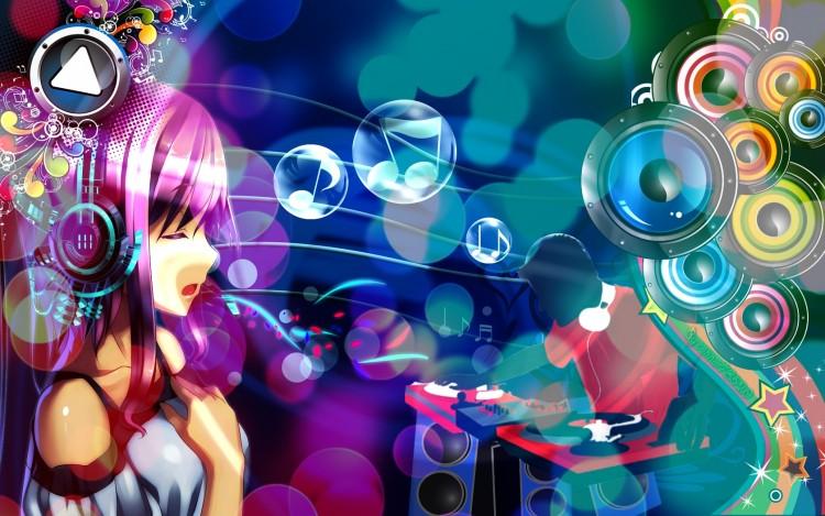 Anime Dj: Wallpapers Manga > Wallpapers Miscellaneous Music DJ ! By