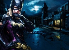 Fonds d'�cran Comics et BDs Batgirl Under the Rain