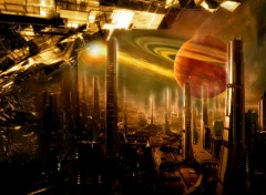 Fonds d'�cran Fantasy et Science Fiction science fiction city
