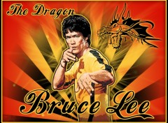Fonds d'�cran C�l�brit�s Homme The Dragon Bruce Lee
