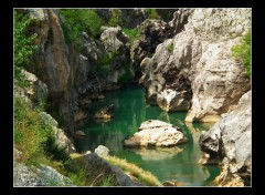 Fonds d'�cran Nature Gorges de l'Herault
