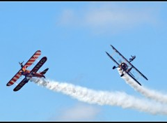 Fonds d'�cran Avions Breitling Wingwalkers