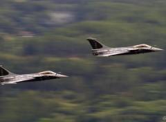 Fonds d'�cran Avions Dassault Rafales