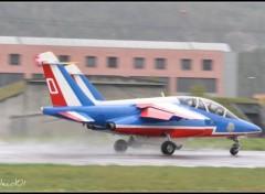 Fonds d'�cran Avions patrouille fran�aise