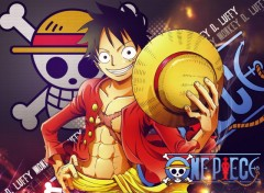 Fonds d'�cran Manga Luffy - 2 Y later