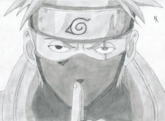 Fonds d'cran Art - Crayon Kakashi