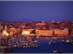 Fonds d'�cran Voyages : Europe Vieux port - Marseille